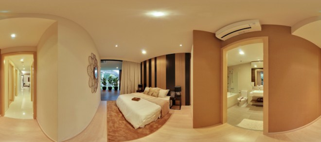 UEL Austville EC showflat virtual tours - master bedroom 2 by YongHao Photography