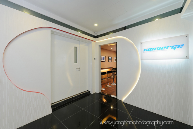 Entrance, interior, commercial space