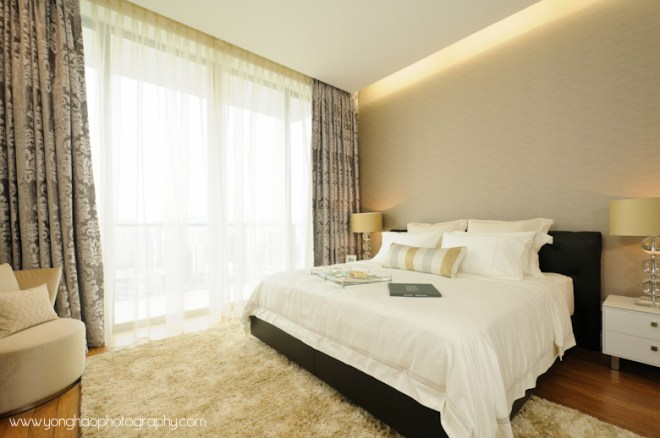 Master bedroom - Interior photography by YongHao Photography