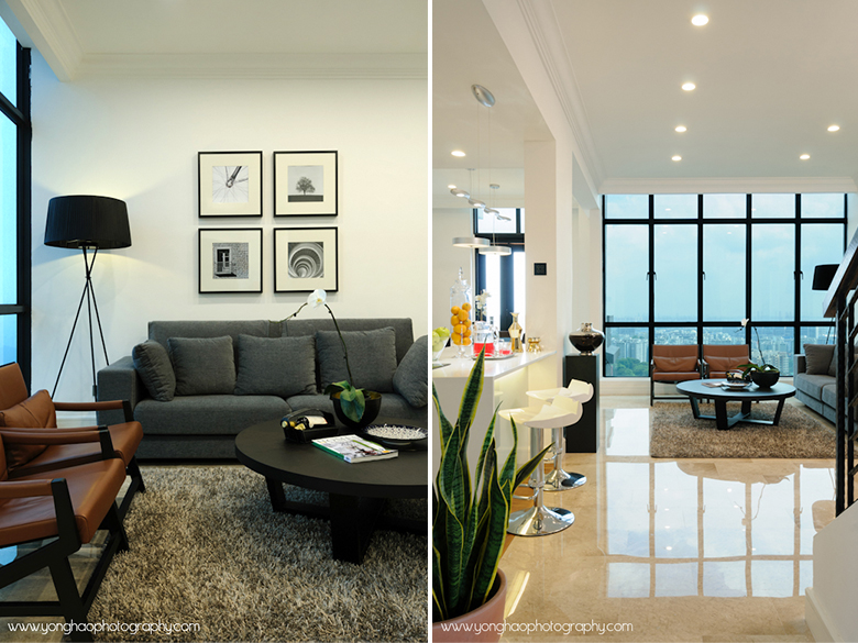 Left Living Room Lifestyle Right Welcoming Entrance Interior Photography By YongHao