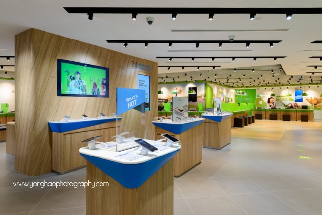 interior photography, starhub,  yonghao photography, plaza singapura, singapore, interior photographer, commercial photograpyhy, retail photography