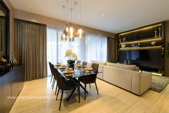 Interior Photography Photos Yonghao Goodwood Residences Showflat Singapore Residential Dining