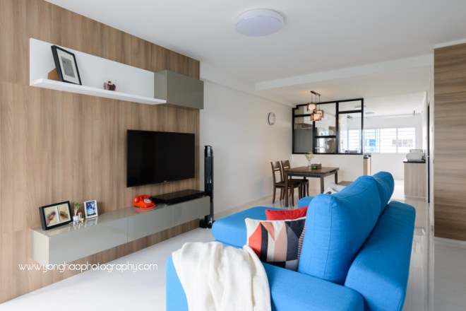 yonghao photography, interior photography, living area, hdb, 1.01 interior design, photography services, singapore