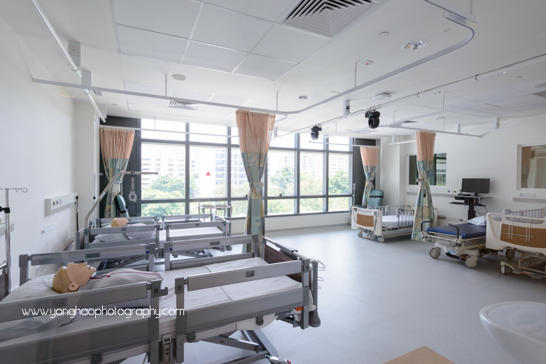 ... YongHao Photography · Interior Photography Of Yishun Community Hospital  For Crown Construction