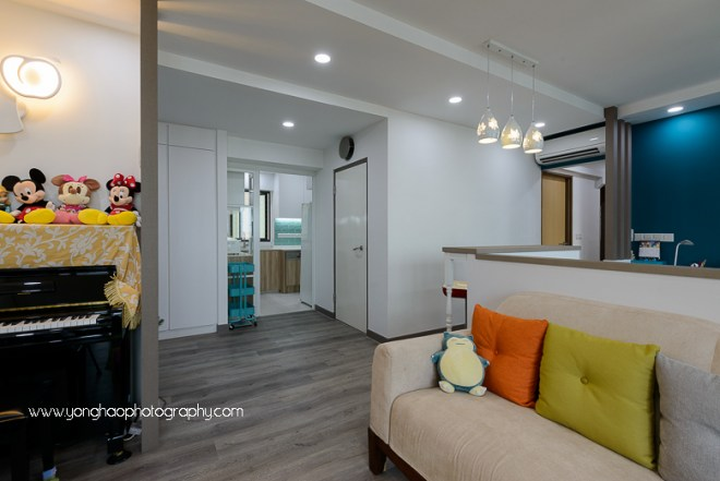 interior, interior photography, hdb, sky design & Renovation, yonghao photography, singapore, skyville, dawson road, photography services, residential interior photography