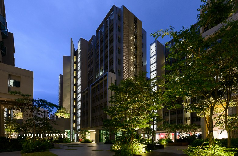 North Hill Student & Faculty Residential Complex, NTU Singapore for Guida Moseley Brown Architects
