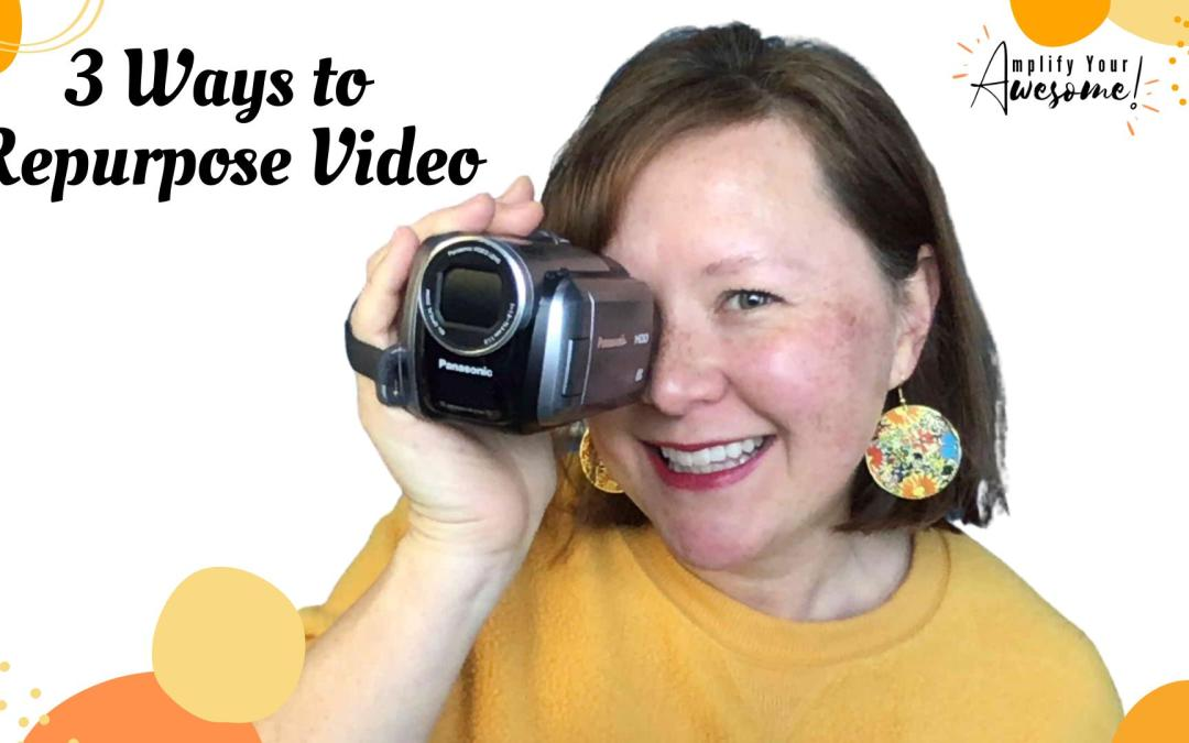 Get more eyeballs on your videos with these 3 tips.