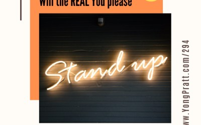 Will the REAL you please stand up???