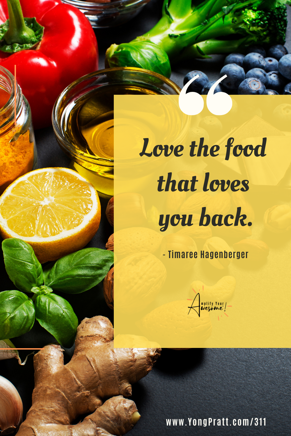 Love the food that loves you back