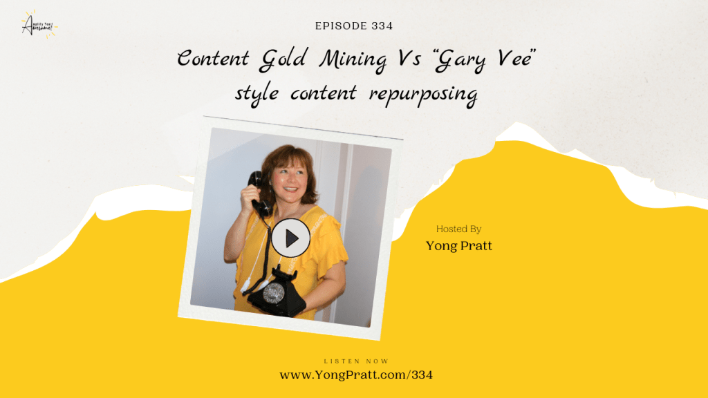 Amplify Your Awesome™ - Podcast - Yong Pratt