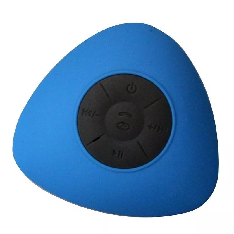 Mini Enceinte Bluetooth Triangle Main Libre Ventouse