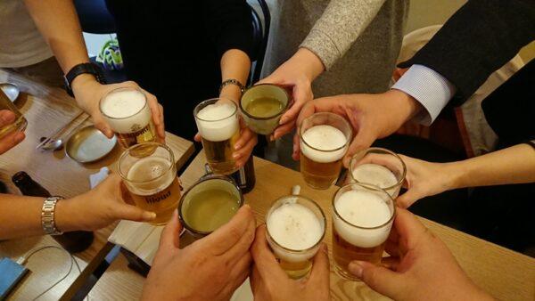 韓国オフ乾杯