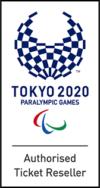 Logo revendeur autorisé de billets des Jeux Paralympiques de Tokyo 2020