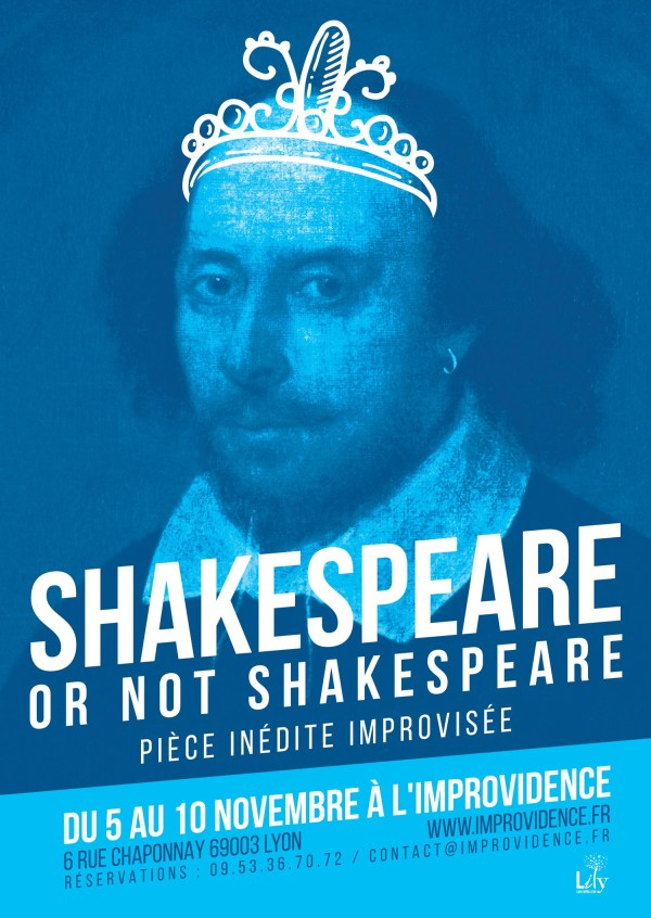 Shakespeare or not shakespeare a limprovidence