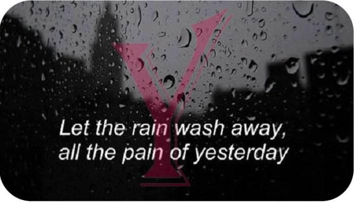 Rain Status In English