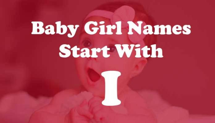 Baby Girl Names Start with i