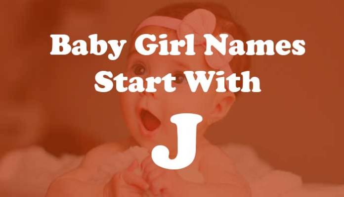 Baby Girl Names Start with j