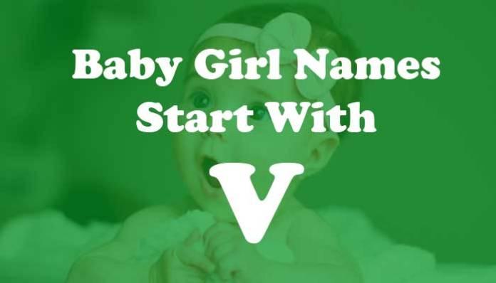 Baby Girl Names Start with V