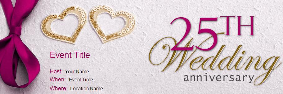 Wedding Anniversary Invitation Ideas Archives Yoovite
