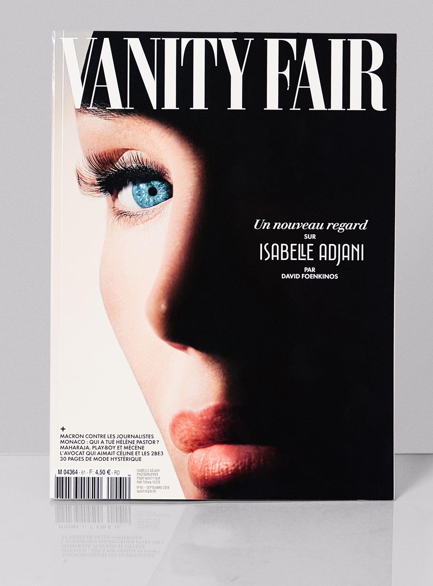 vanity fair france magazine launch and art direction