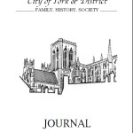 York & District Family History Society Journal October 2016