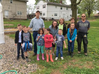 Messiah UMC Volunteers, May 2018
