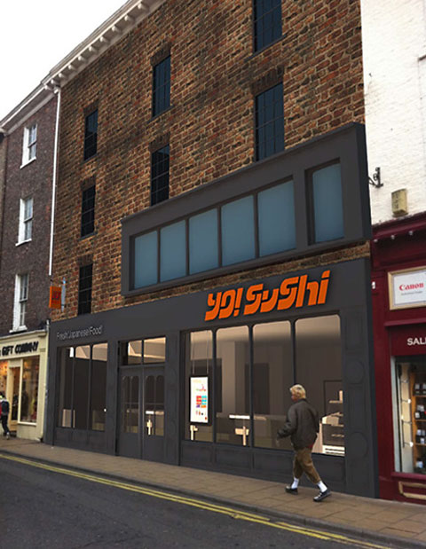 Image result for yo sushi york