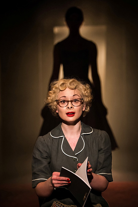 Ruth Ellis in forground, Vickie Martin in background