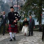 Bled Wedding Bagpiper
