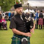 Manchester Bagpiper