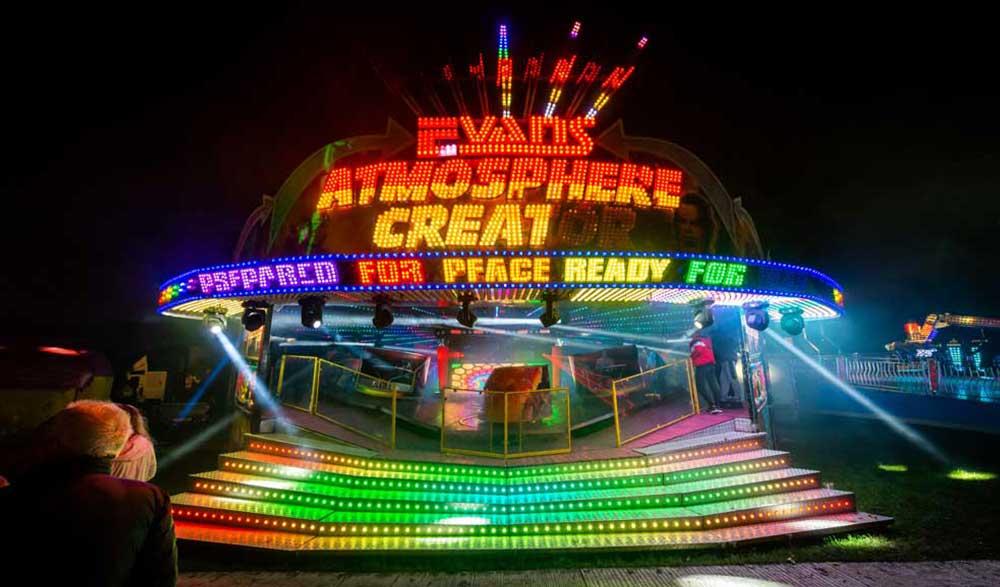 Amusement ride at York Balloon Fiesta