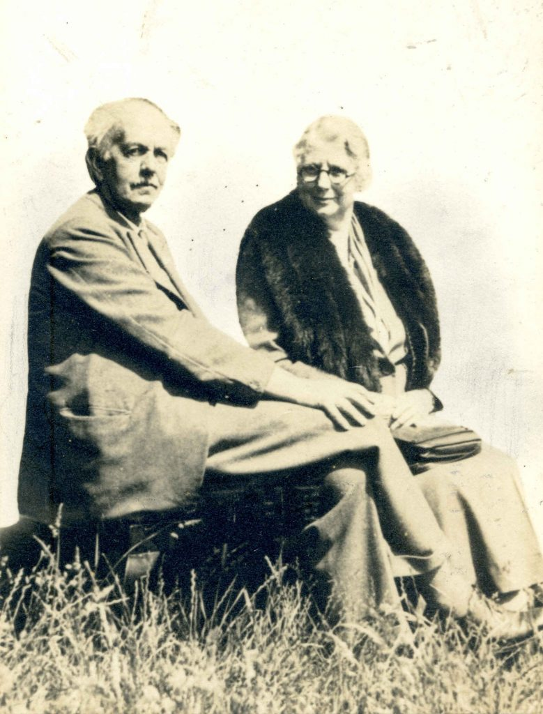 Alfred & Margeurite Rowntree in later years. Courtesy of  Charles Rowntree