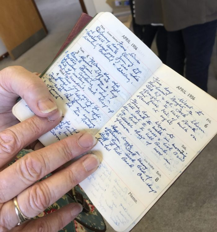 Sally Stone's father's diary