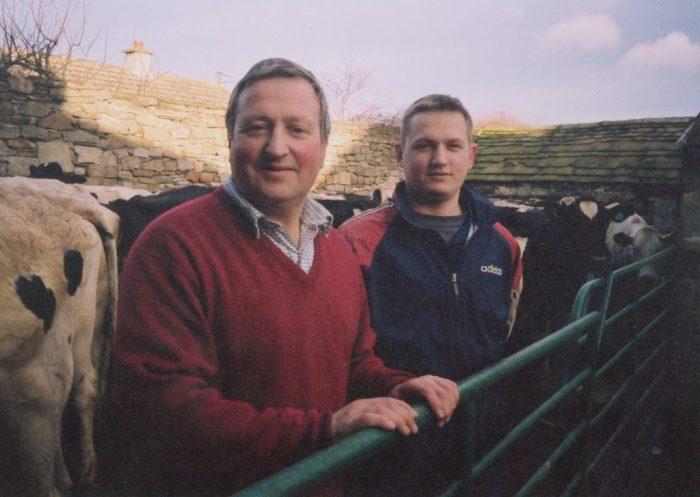 1.Alan and Richard Pratt at Bellerby 2002