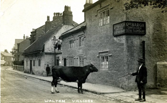 George Bargh's Glebe Farm Dairy, 72 Walton Village, Liverpool 1920s