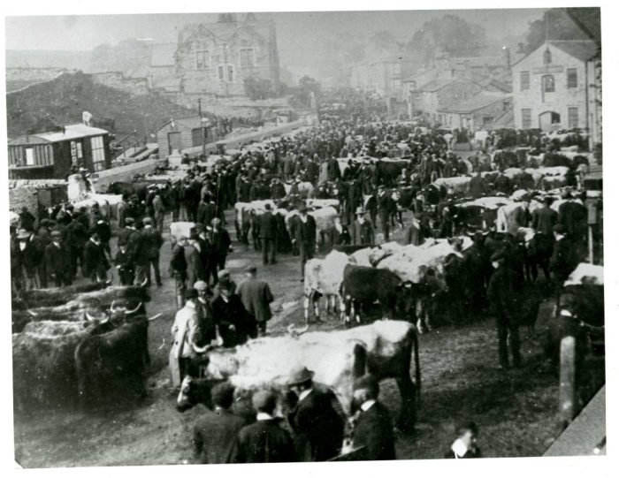 Cattle Market in Hawes