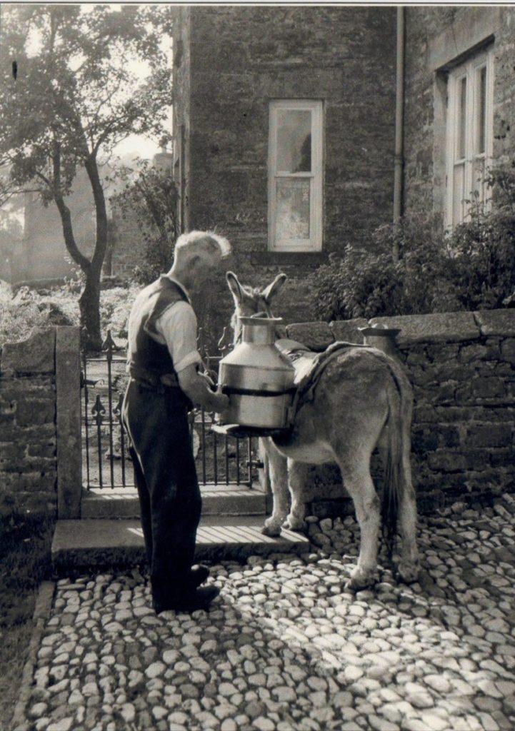 Walter Bostock and Jimmy the donkey. Courtesy of Steve Bostock