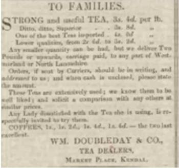 Westmorland Gazette - Saturday 01 July 1854 p4 Newspaper image © The British Library Board. All rights reserved