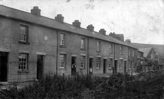 Woodend Terrace, Tebay, unknown date. Courtesy of Heather Ballantyne