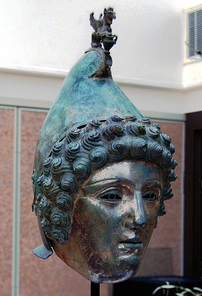 The Crosby Garrett helmet found in 2010 (c) Portable Antiquities Scheme CC BY 2.0