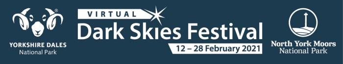 Virtual Dark Skies Festival 2021 banner