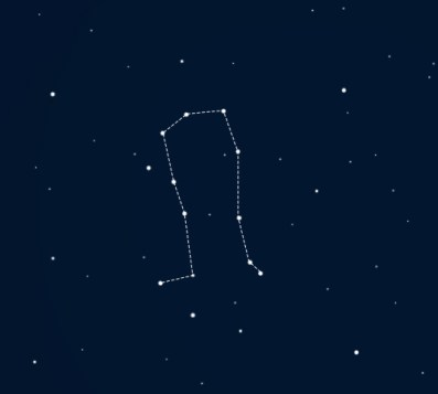 This is a graphic showing the constellation Gemini