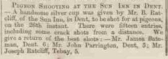 Westmorland Gazette - Saturday 30 December 1865. . Newspaper image © The British Library Board. All rights reserved. With thanks to The British Newspaper Archive (https://www.britishnewspaperarchive.co.uk/).