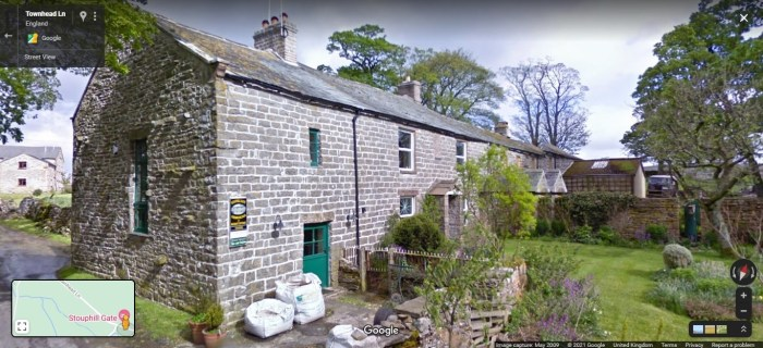 Stouphill Gate, Ravenstonedale. Now divided into several dwellings including a holiday cottage. From Google Street View