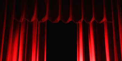 fabrics are used for stage curtains