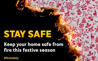 Keep your home safe from fire this festive season