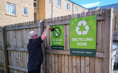 Recycling success celebrated