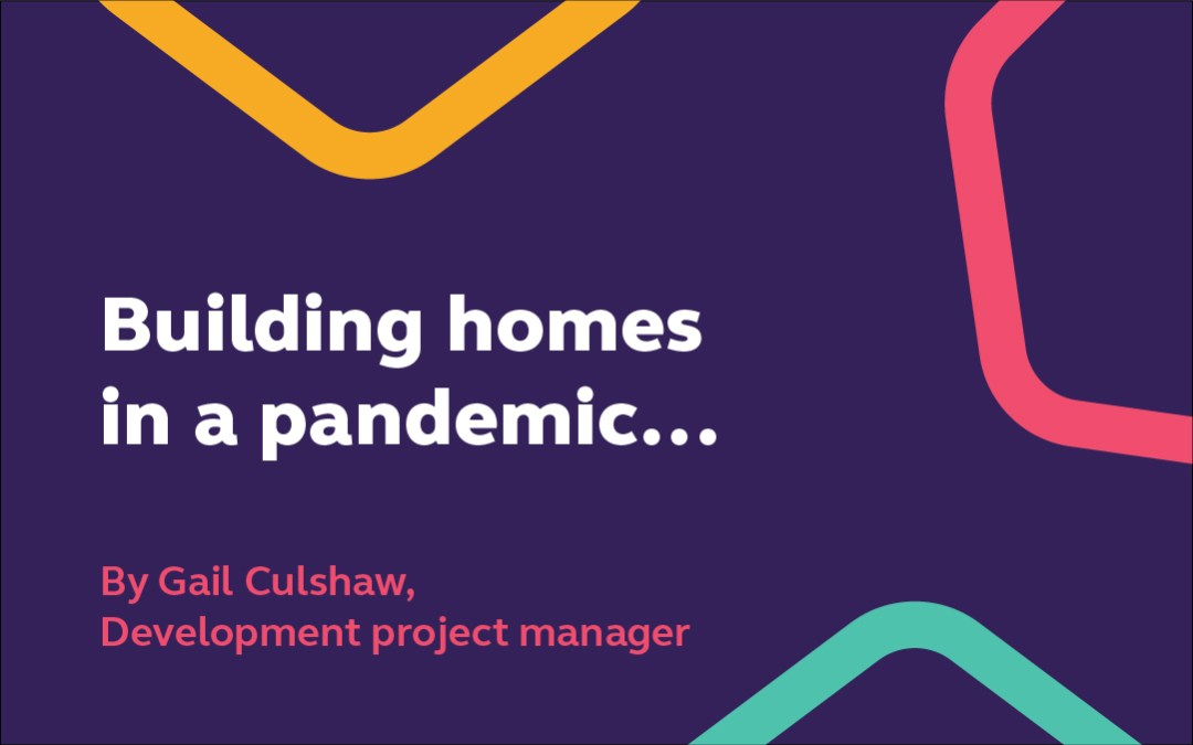 Building in a pandemic, by Gail Culshaw