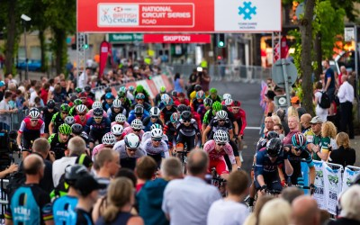 Grand finish for Skipton cycle race