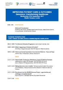Improving Patient Care & Outcomes Conference Agenda